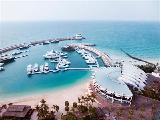 The Pavilion Marina at Jumeirah Beach Hotel