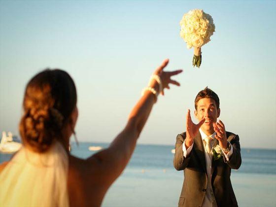 Weddings at The Ravenala Attitude