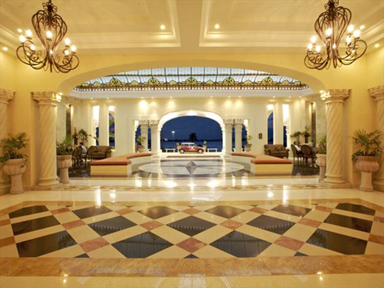 The Royal Cancun lobby area