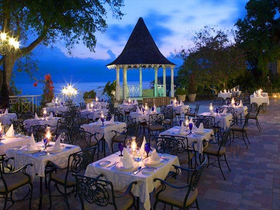 The Terrace restaurant at Sandals Royal Plantation Ocho Rios