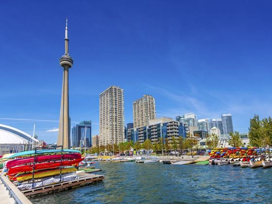 Toronto harbour front