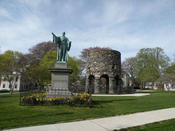 Touro Park, Newport, Rhode Island