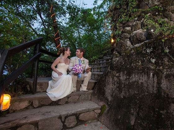 Marry at The Treehouse, Anse Chastanet