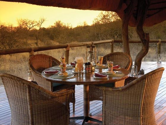 Breakfast in the bushveld