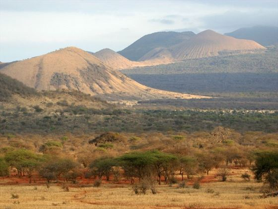 Tsavo National Park scenery