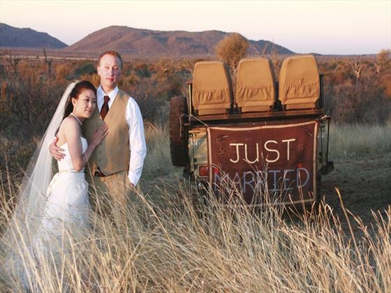 Bride & Groom at Tuningi Hills