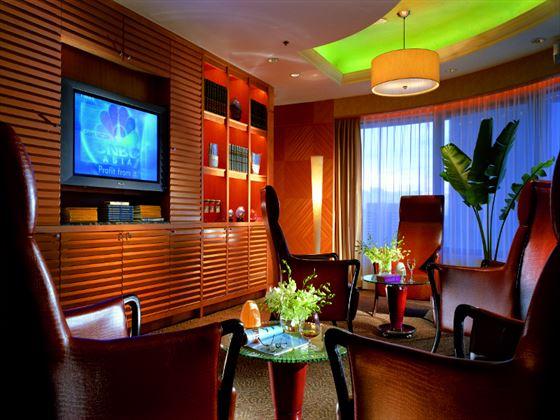 TV room at Shangri-La Kuala Lumpur