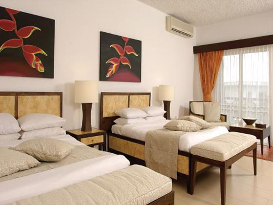 Twin room at Leopard Beach Resort & Spa