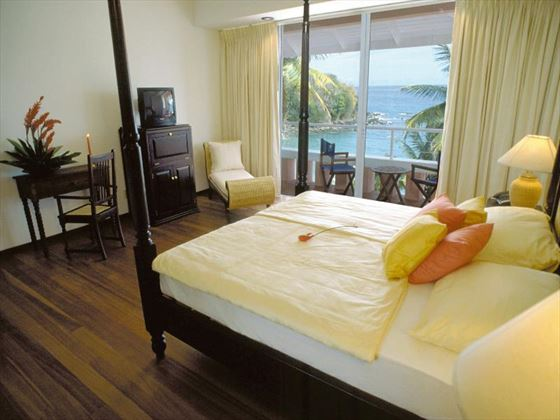 Typical bedroom at Blue Haven