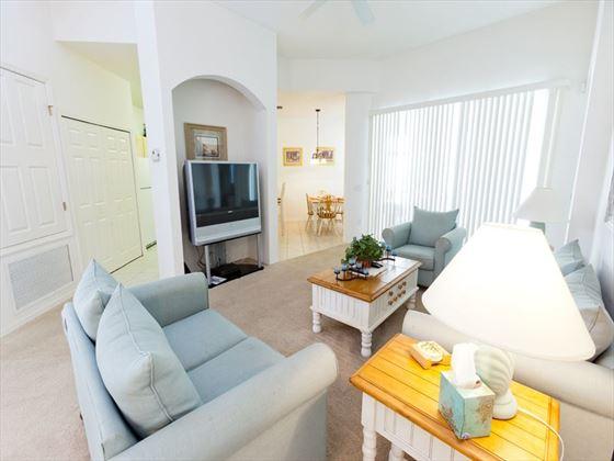 Typical Calabay Parc at Tower Lake Living Room