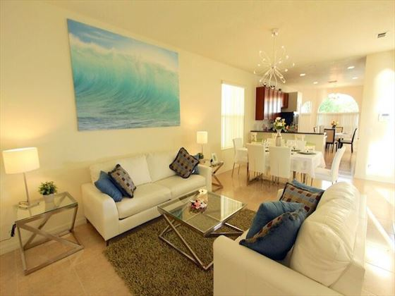 Typical Crystal Cove Living Room