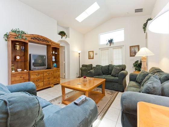 Typical Disney Area Executive Home Living Area