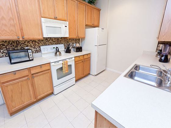 Typical Disney Area Executive Plus Kitchen
