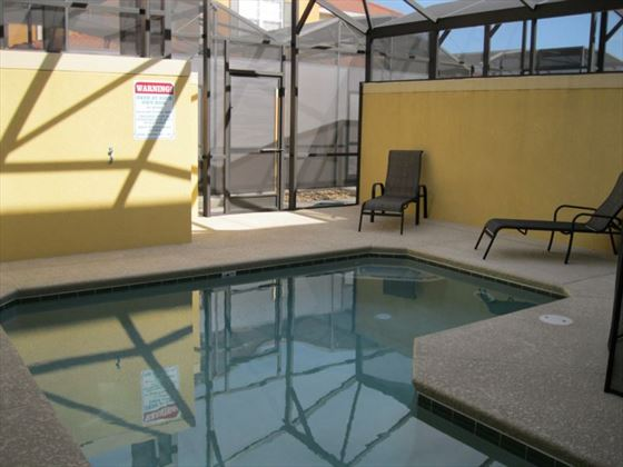 Typical Disney Area Platinum Town Home splash pool
