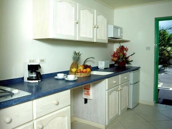 Typical kitchen at Rostrevor Hotel