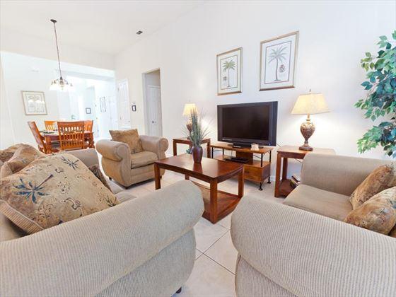 Typical Windsor Hills  Living Room