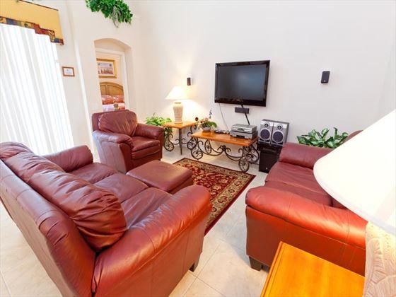 Typical Windsor Palms Living Room