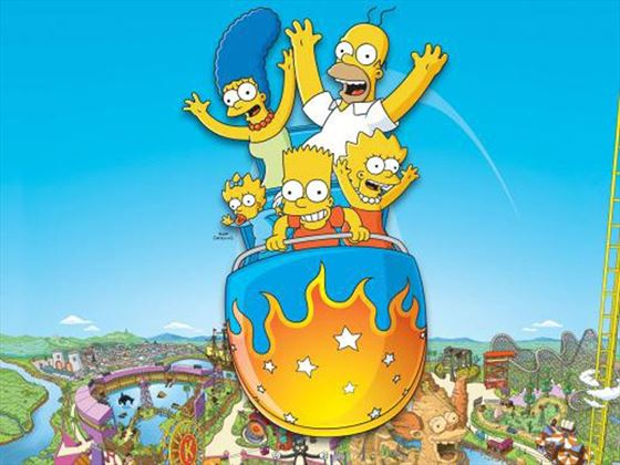 The Simpsons Ride™ at Universal Studios®