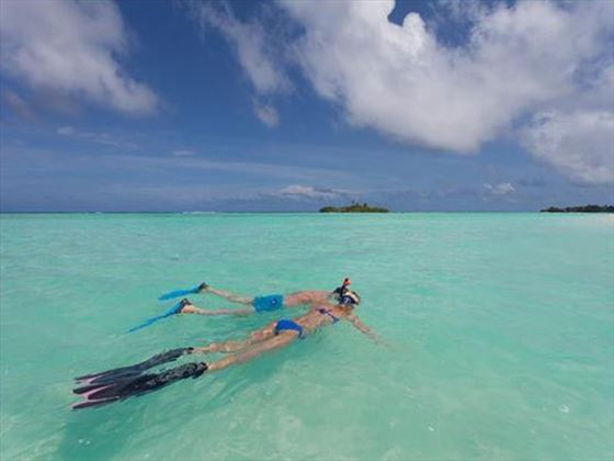 Snorkelling, Veligandu Island Resort & Spa
