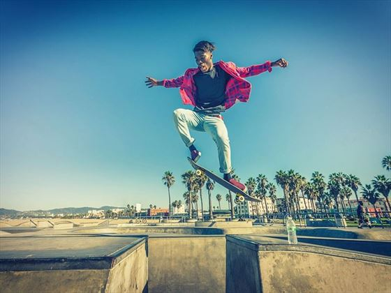 Venice Beach skater, LA