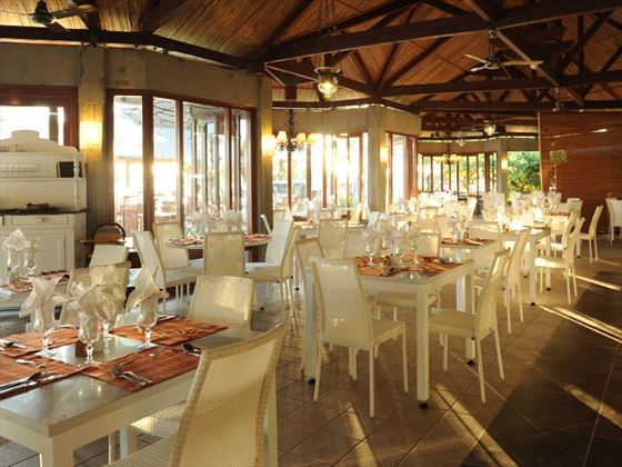 Main restaurant at Veranda Grand Baie