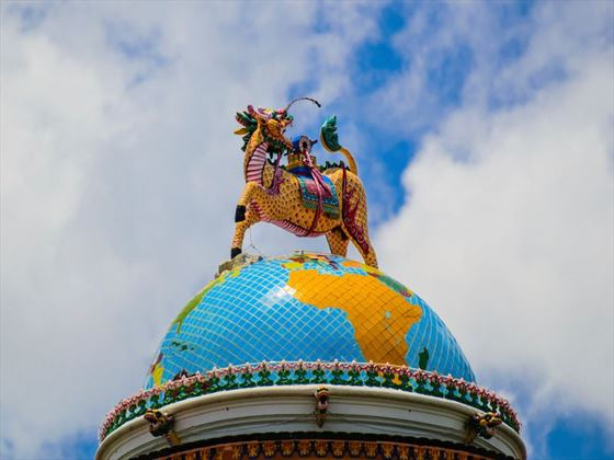 Vietnamese dragon statue