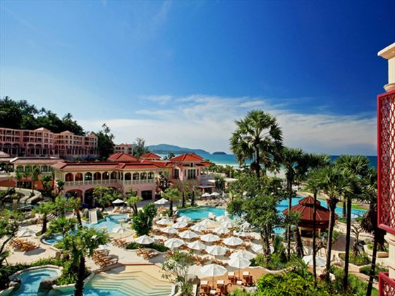 View of Centara Grand Beach Resort Phuket