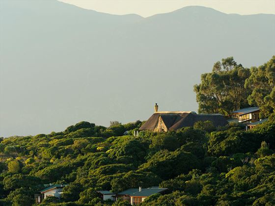 View of the Garden Lodge at Grootbos Private Nature Reserve