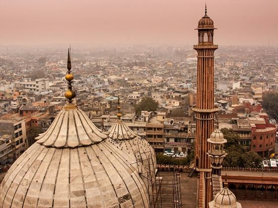 Views across Delhi, North India