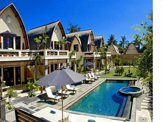 Villa Pool at Vila Ombak, Gili Trawangan, Lombok