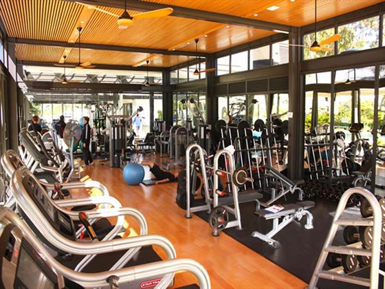 Vineyard Hotel gym