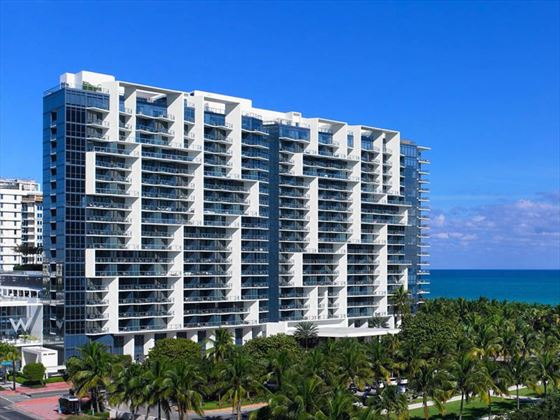 W South Beach hotel exterior