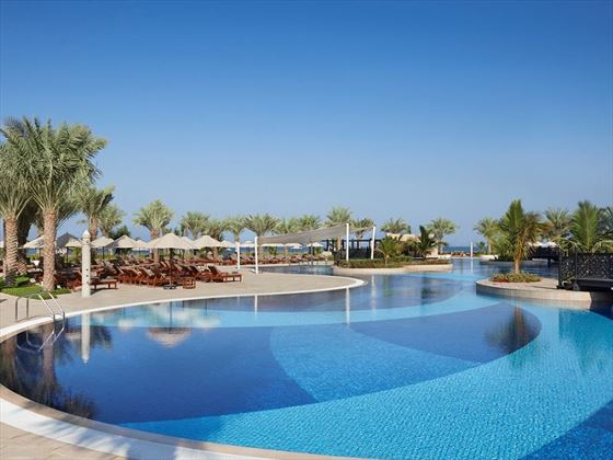Waldorf Astoria Ras Al Khaimah, Main swimming pool