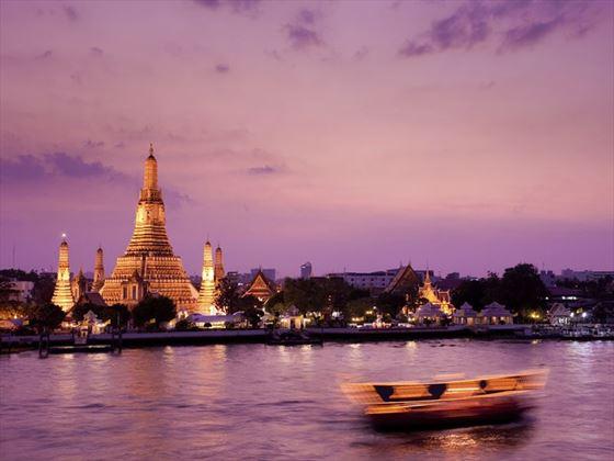 Wat Arun at sunset, Bangkok