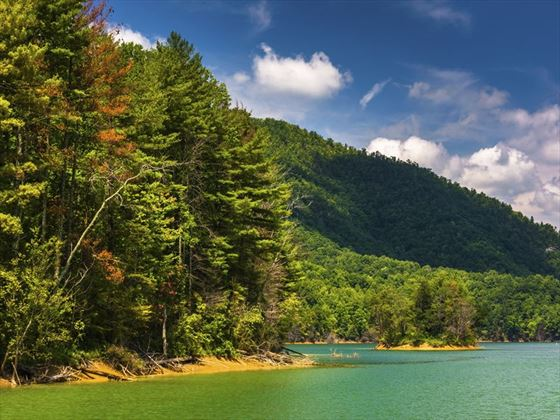 Watauga Lake, Cherokee National Forest