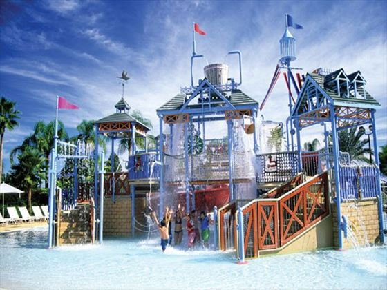 The water park at Reunion Resort & Club
