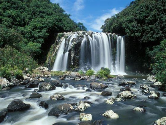 Waterfall in Reunion