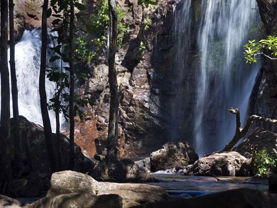 Waterfalls in the rainforest of Kakadu National Park