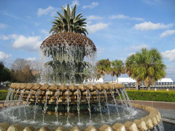 Waterfront Park Fountain, Charleston, South Carolina