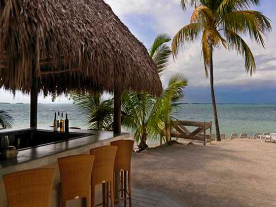 Waves Beach Bar at Hilton Key Largo