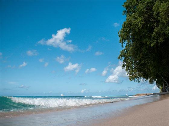 Beach at Waves Hotel & Spa