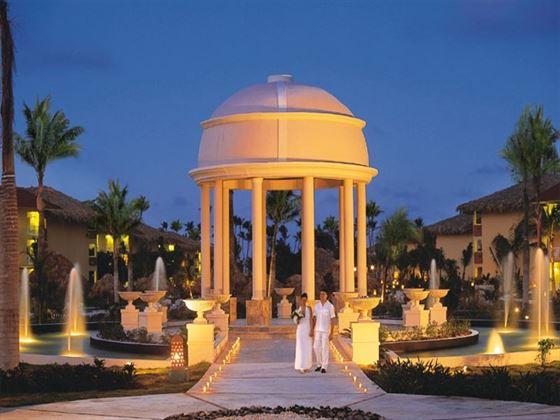 Illuminated wedding setting