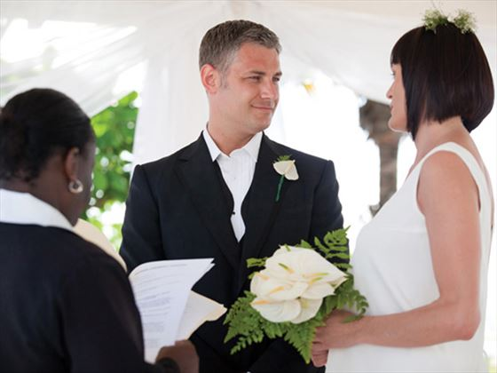 Ceremony at Spice Island