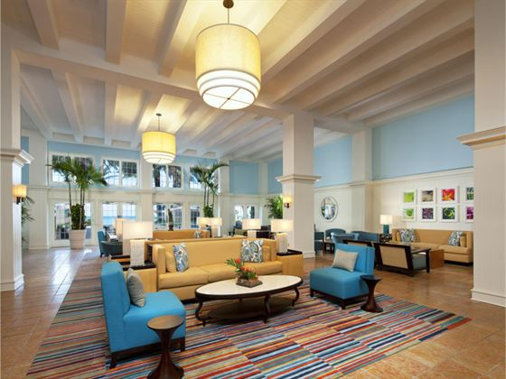 Westin Grand Cayman Seven Mile Beach Resort lobby