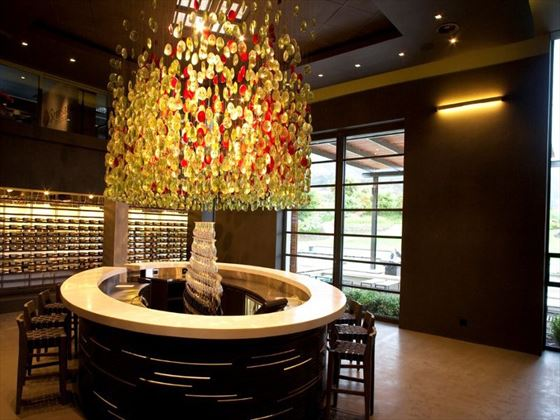 Wine tasting room at The Steenberg Hotel