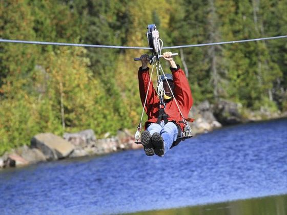 Ziplining in Ontario