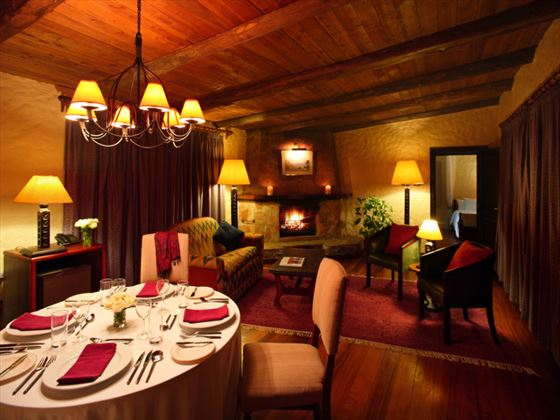 Ziwa Suite lounge at Sarova Lion Hill Lodge
