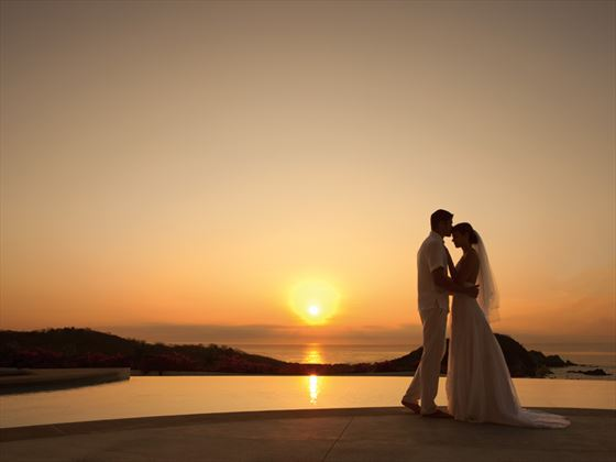 Wedding romance at Zoetry Montego Bay