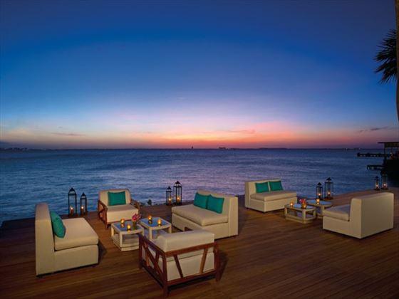 Zoetry Villa Rolandi Island Mujeres at sunset