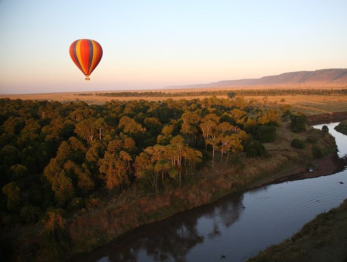 Governors Camp balloon safari